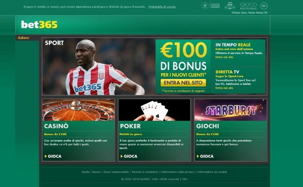 bet365.it (bet365 italia)
