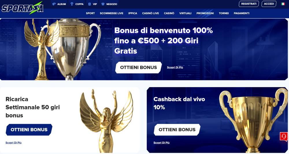 casinò bonus online