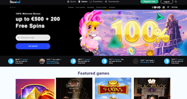 Librabet Casino Online