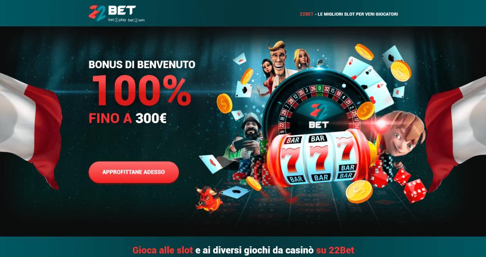 Lista dei migliori casino bonus online in Italia
