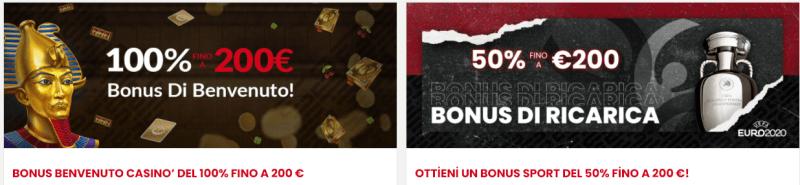 select.bet bonus - per scommesse e casinò