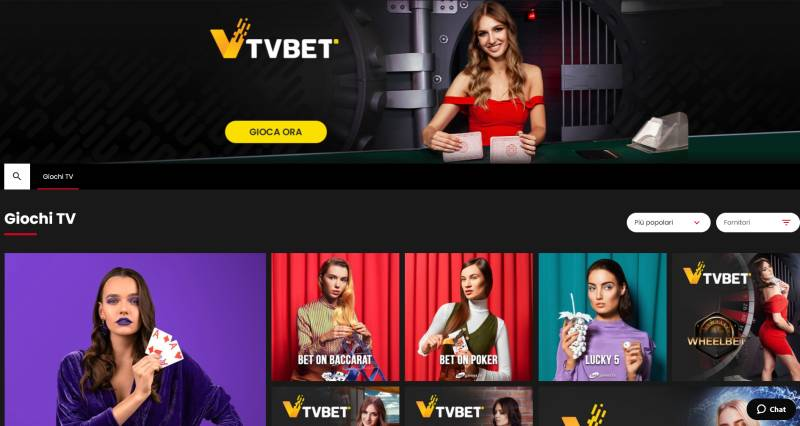 select.bet - giochi TV - by TVBET