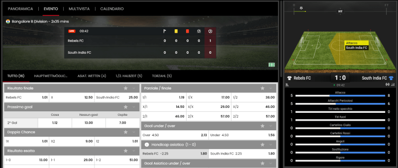 select.bet scommesse live