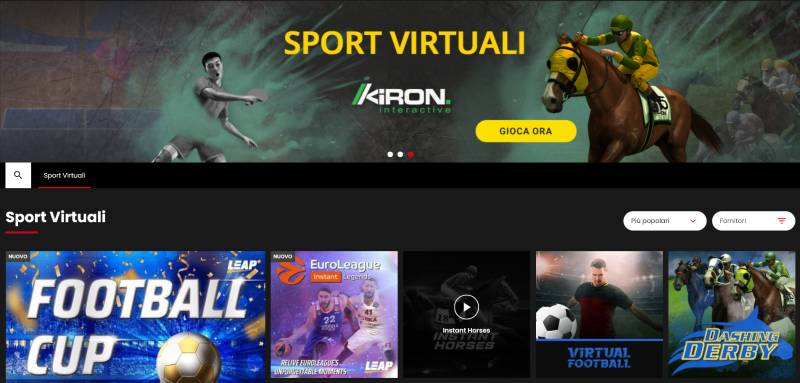 select.bet sport virtuali