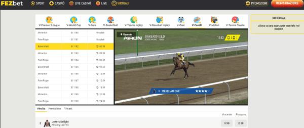 scommesse sport virtuali